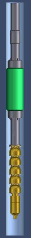 Submersible Pump Torque Arrestor Inflatable Packer System
