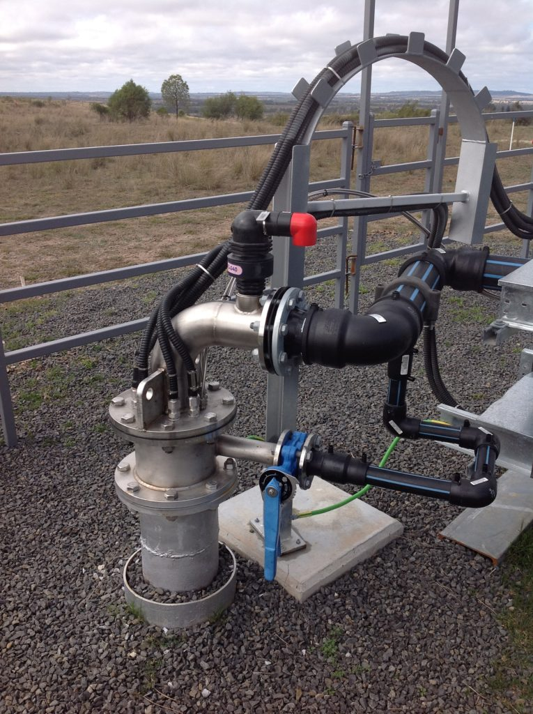 Aquifer Storage and Recovery (ASR) injection bore headwork