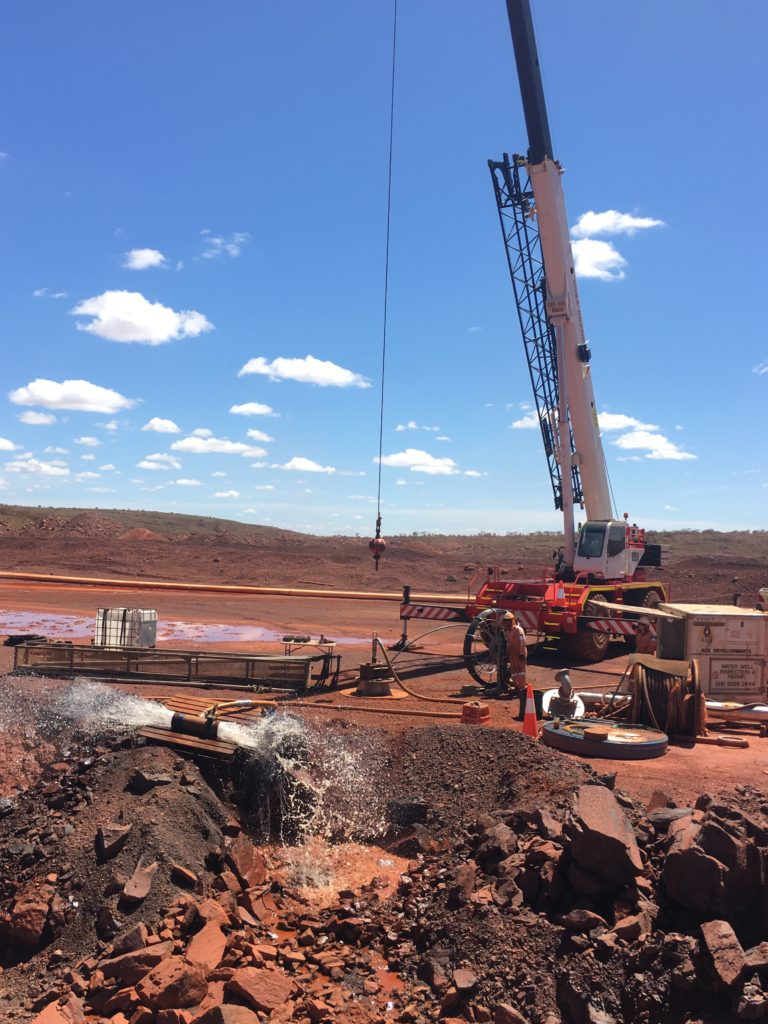 Dewatering Bore Cleaning Services